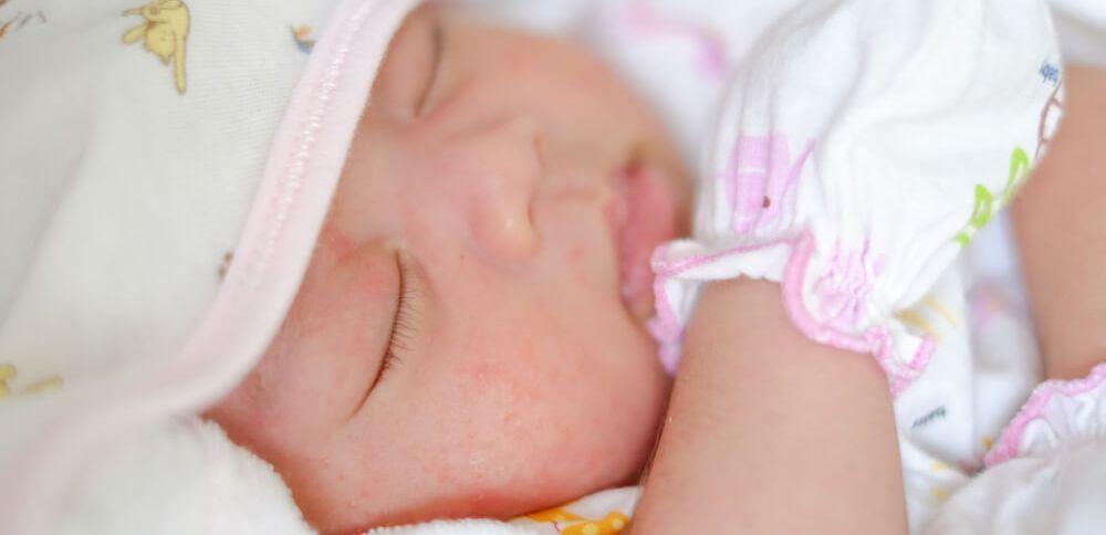 pasgeboren baby | geen bezoek meteen na de bevalling als wens