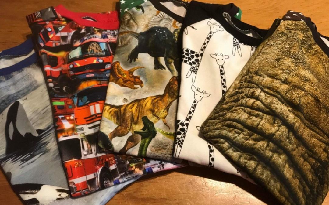 Syta's Naai Creaties; handgemaakte katoenen jersey's in de leukste printjes