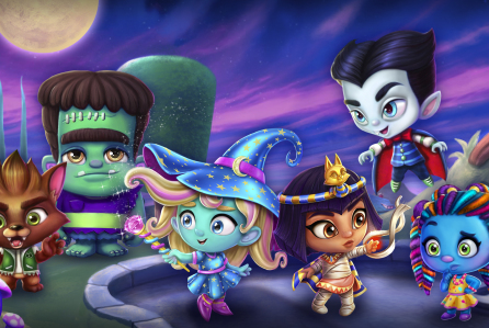 Halloweenfilm voor kinderen op Netflix: Super Monsters Save Halloween