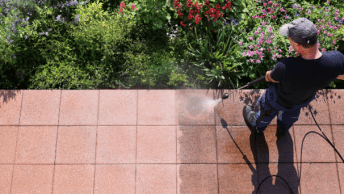 Waar moet je op letten bij het reinigen van je terrastegels met de hogedrukreiniger? En is elke tegel geschikt om schoon te maken met een hogedrukspuit?