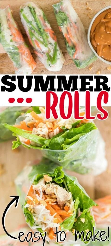 HOW TO MAKE VIETNAMESE SUMMER ROLLS