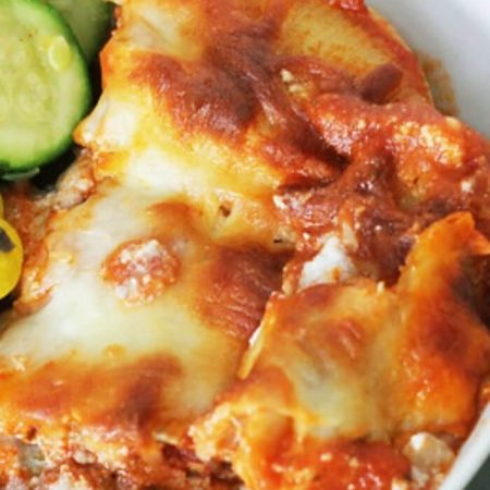 EASY SAUSAGE AND PEPPERS STUFFED SHELLS