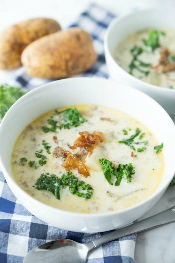 Sausage Tuscan Soup