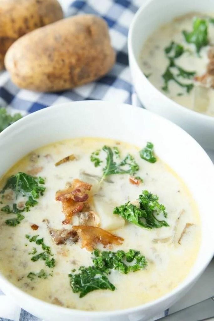 Kale Sausage and Potato Soup Recipe