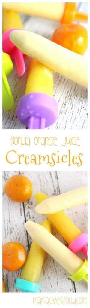 Orange Juice Creamsicle Recipe
