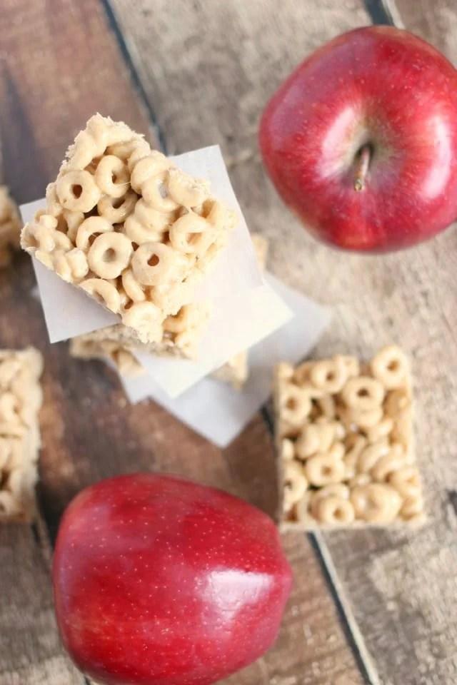 Apple Cider Cheerios Treats