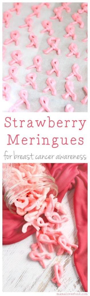 Strawberry Meringue Cookie Recipe