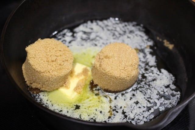 Brown Sugar Cinnamon Skillet Apples Recipe