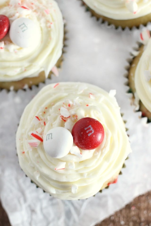 White Chocolate and Peppermint Cupcake Recipe