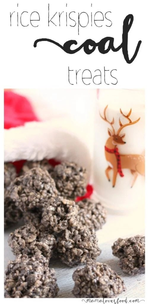 Rice Krispies Cookies and Cream COAL Treats