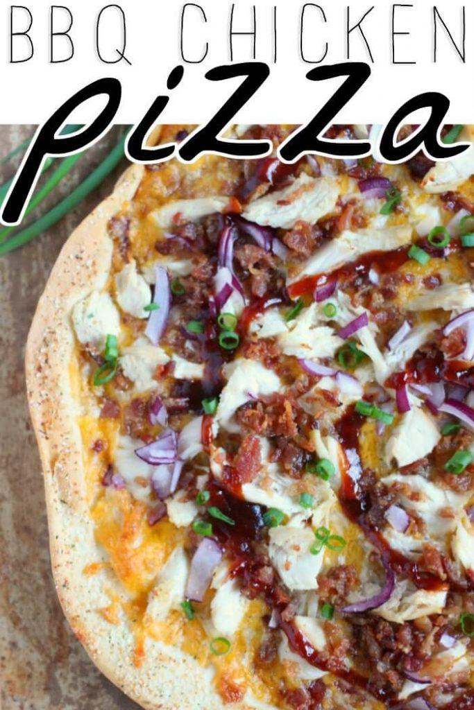 BARBECUE CHICKEN PIZZA RECIPE
