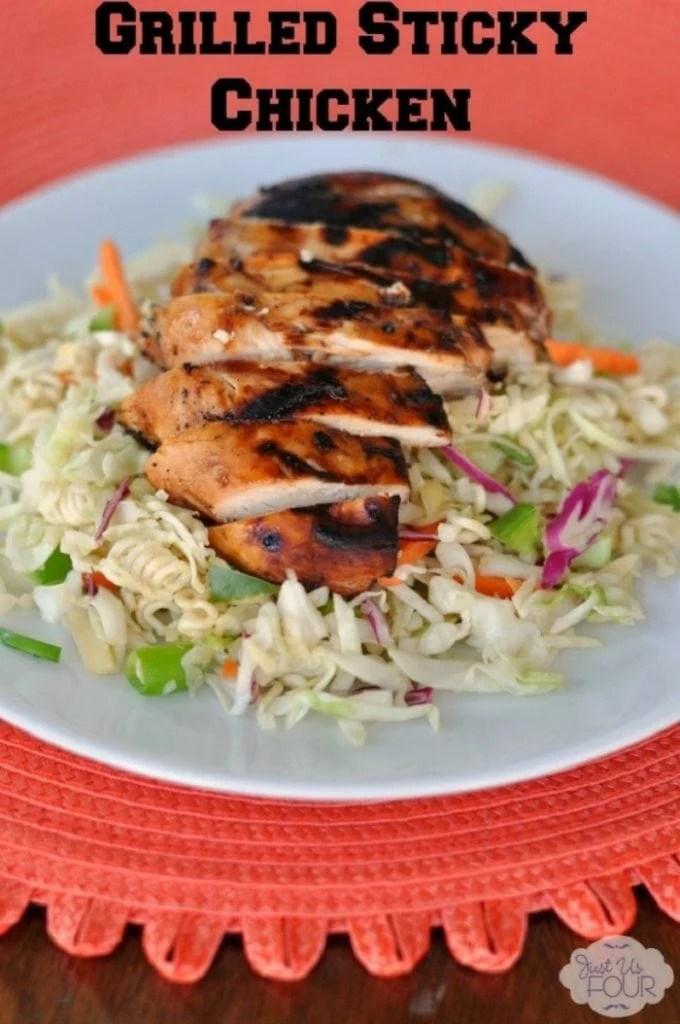 Grilled Sticky Chicken