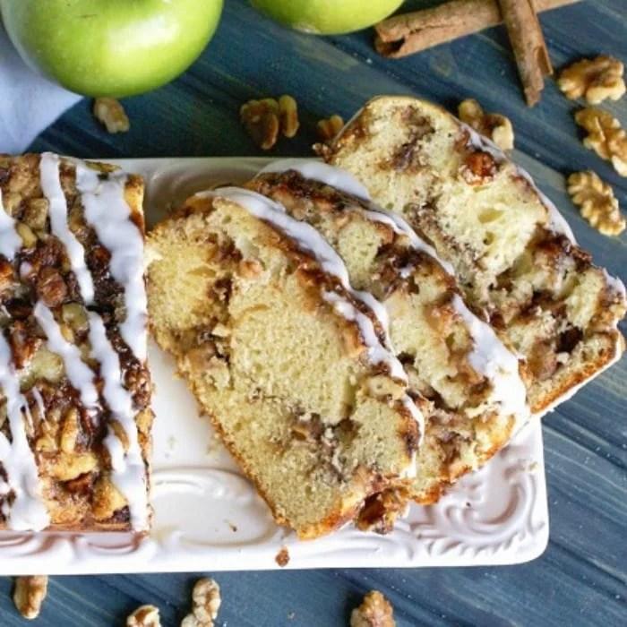 Easy Apple Walnut Fritter Bread Recipe