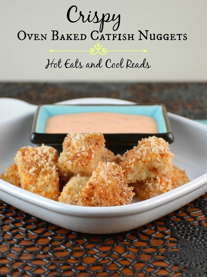 Crispy Oven Baked Catfish Nuggets
