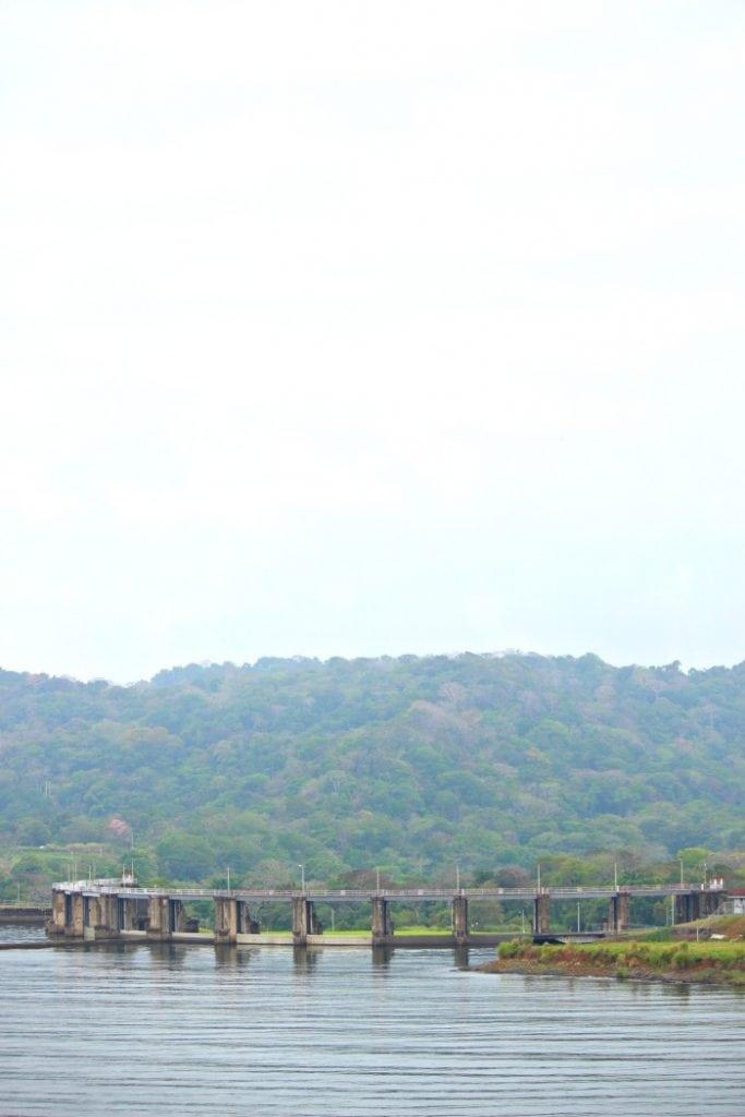 lake gatun largest man made lake for panama canal