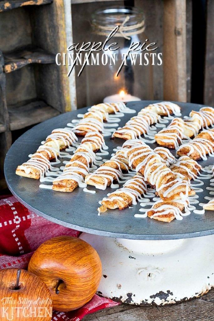 Apple Pie Cinnamon Twists