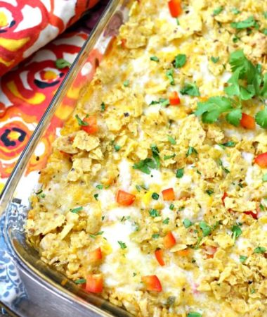 HOW TO MAKE A CHICKEN AND RICE TACO CASSEROLE