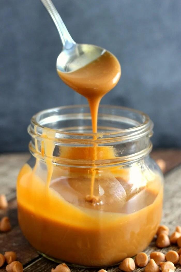 Two Ingredient Butterscotch Ganache