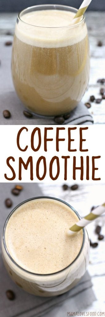easy coffee smoothie