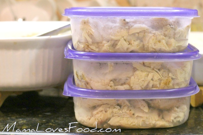 HOW TO STORE BAKED CHICKEN