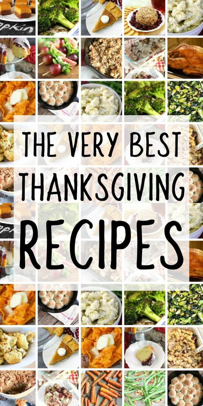 BEST THANKSGIVING RECIPES