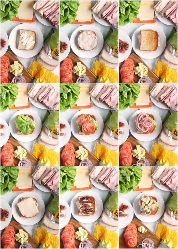 HOW TO MAKE A CLUB SANDWICH