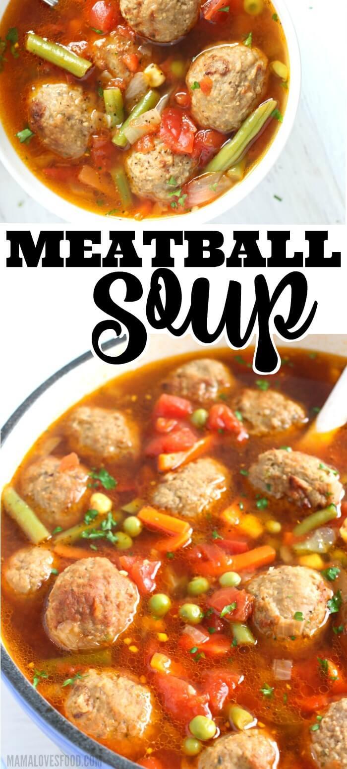 MEATBALL SOUP RECIPE