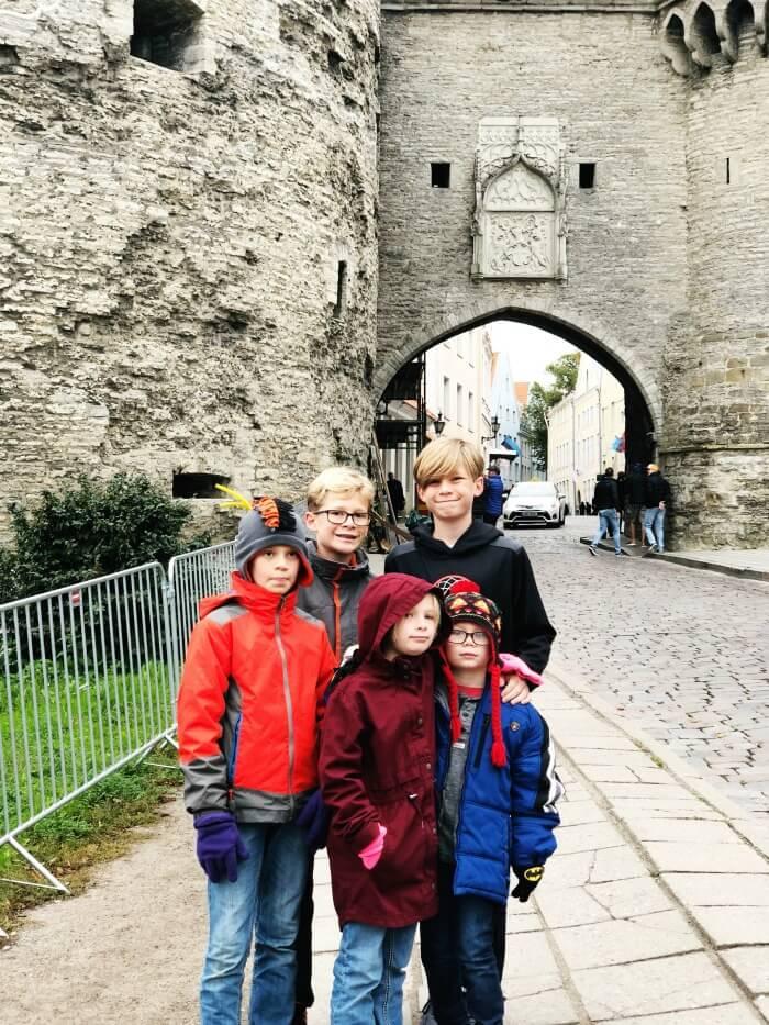 ENTRANCE TO THE OLD CITY TALLINN