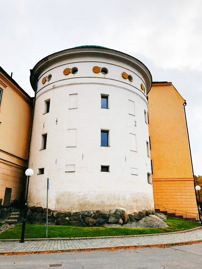 ROUND BUILDING IN STOCKHOLM