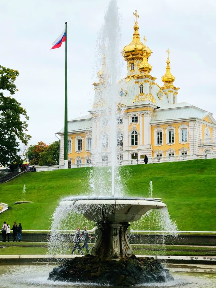 THE FOUNTAINS AT PETERHOFF ST PETERSBURG