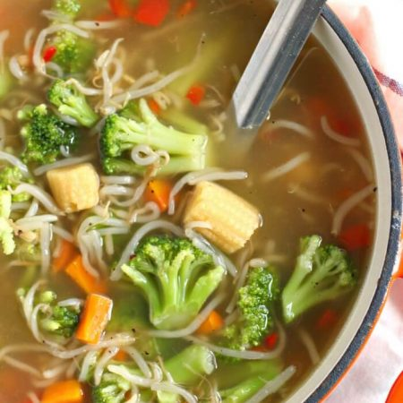 EASY CHOW MEIN SOUP RECIPE