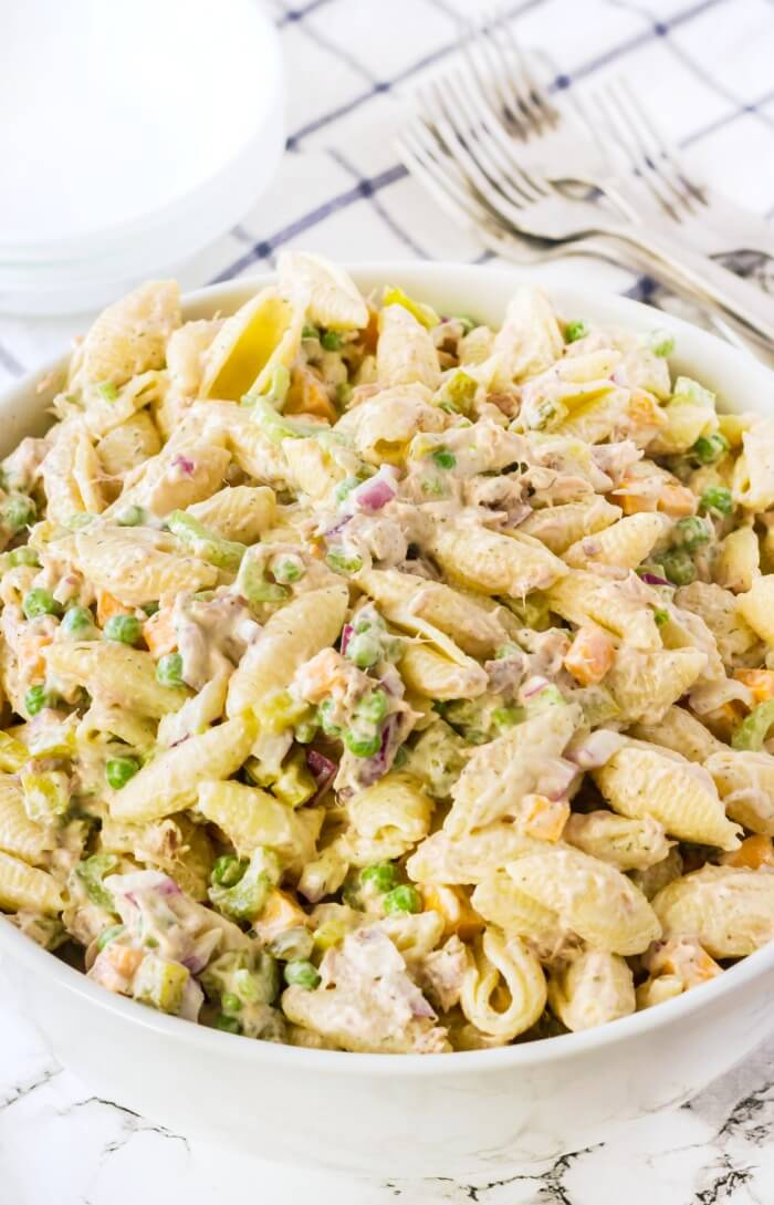 PASTA SALAD WITH TUNA