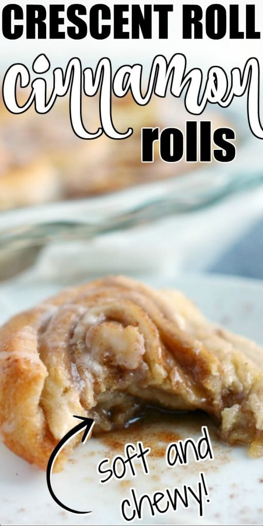CRESCENT ROLL CINNAMON ROLLS RECIPE