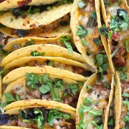 TACOS BAKED IN THE OVEN