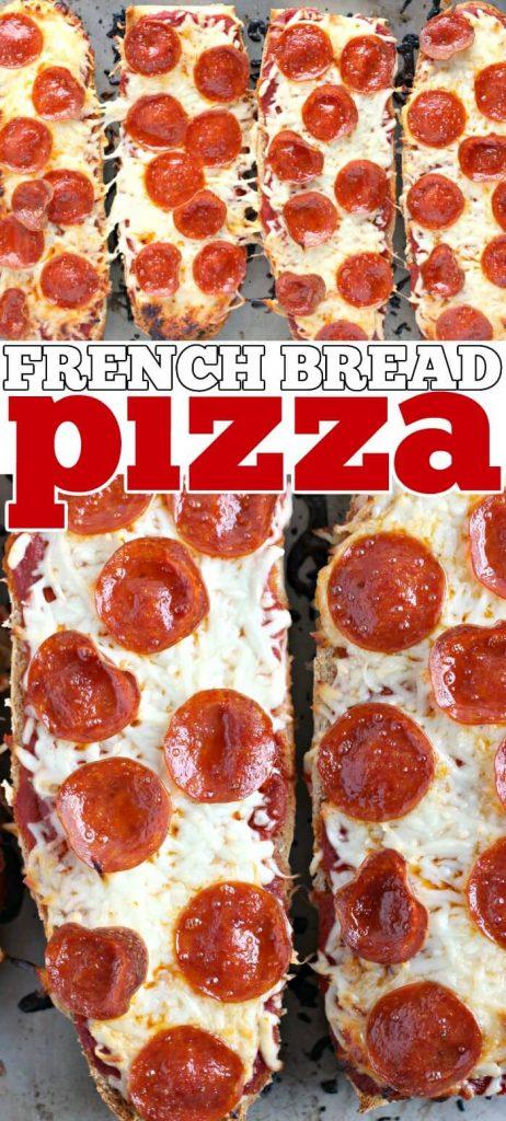FRENCH BREAD PIZZA RECIPE
