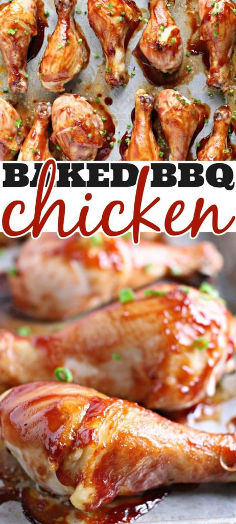 BAKED BBQ CHICKEN RECIPE