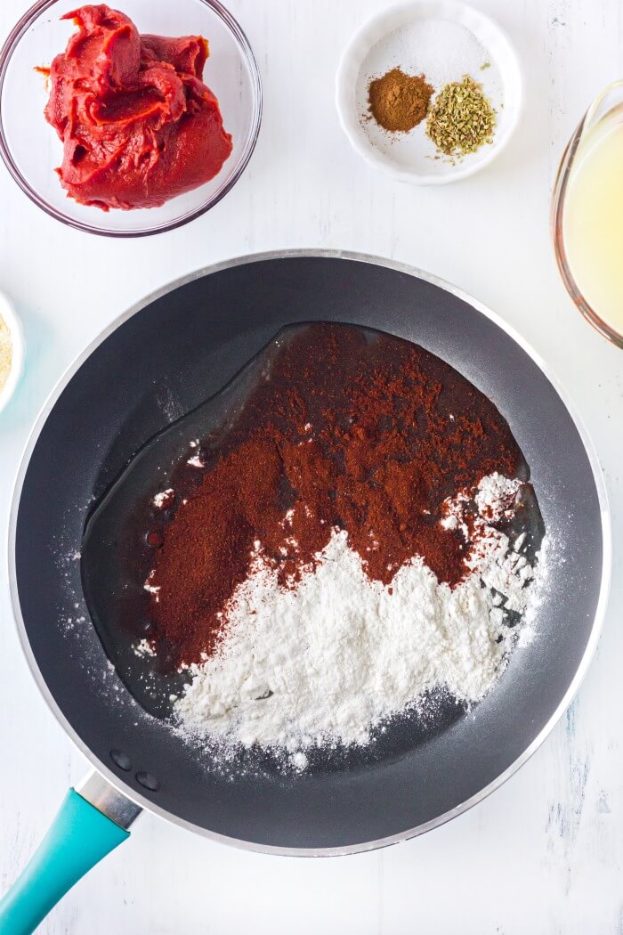 HOW TO MAKE THE BEST ENCHILADA SAUCE