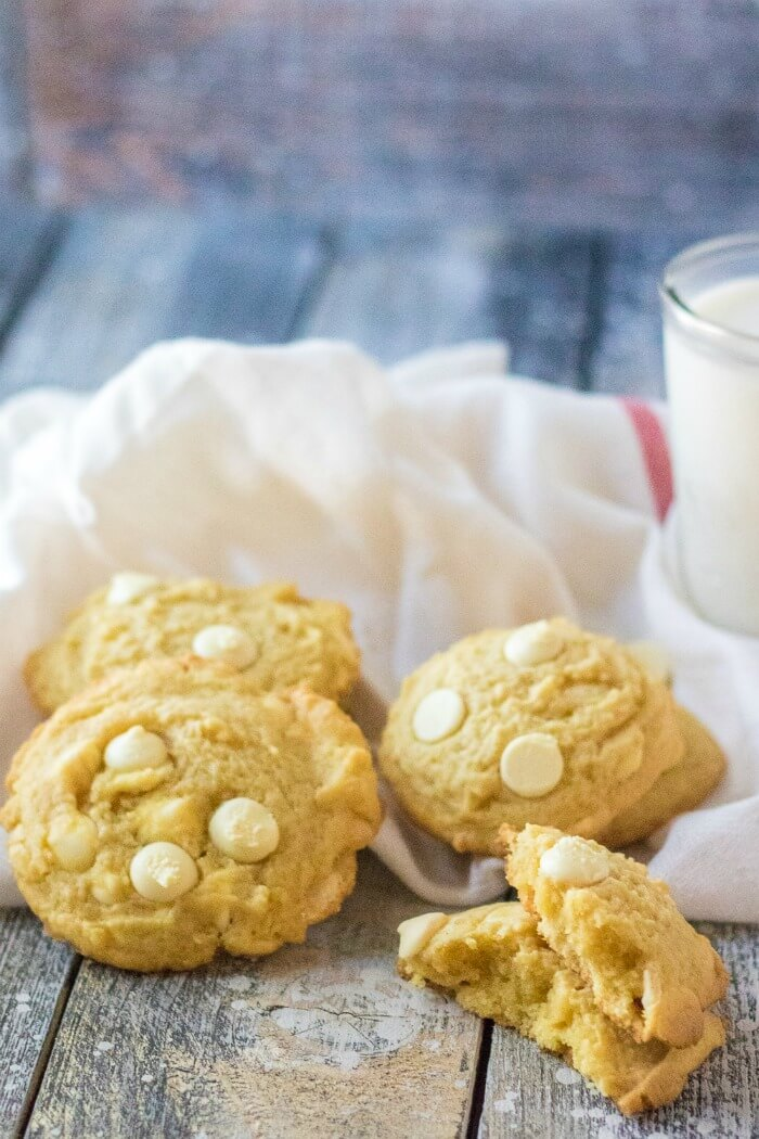 LEMON COOKIES WITH PUDDING