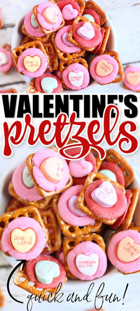 EASY VALENTINE'S DAY PRETZELS