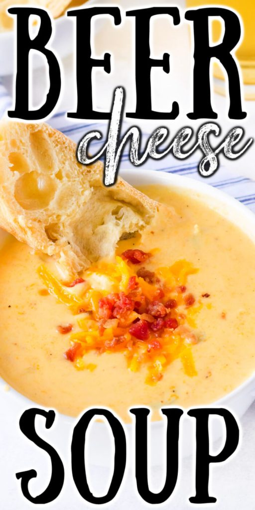 HOMEMADE BEER CHEESE SOUP RECIPE