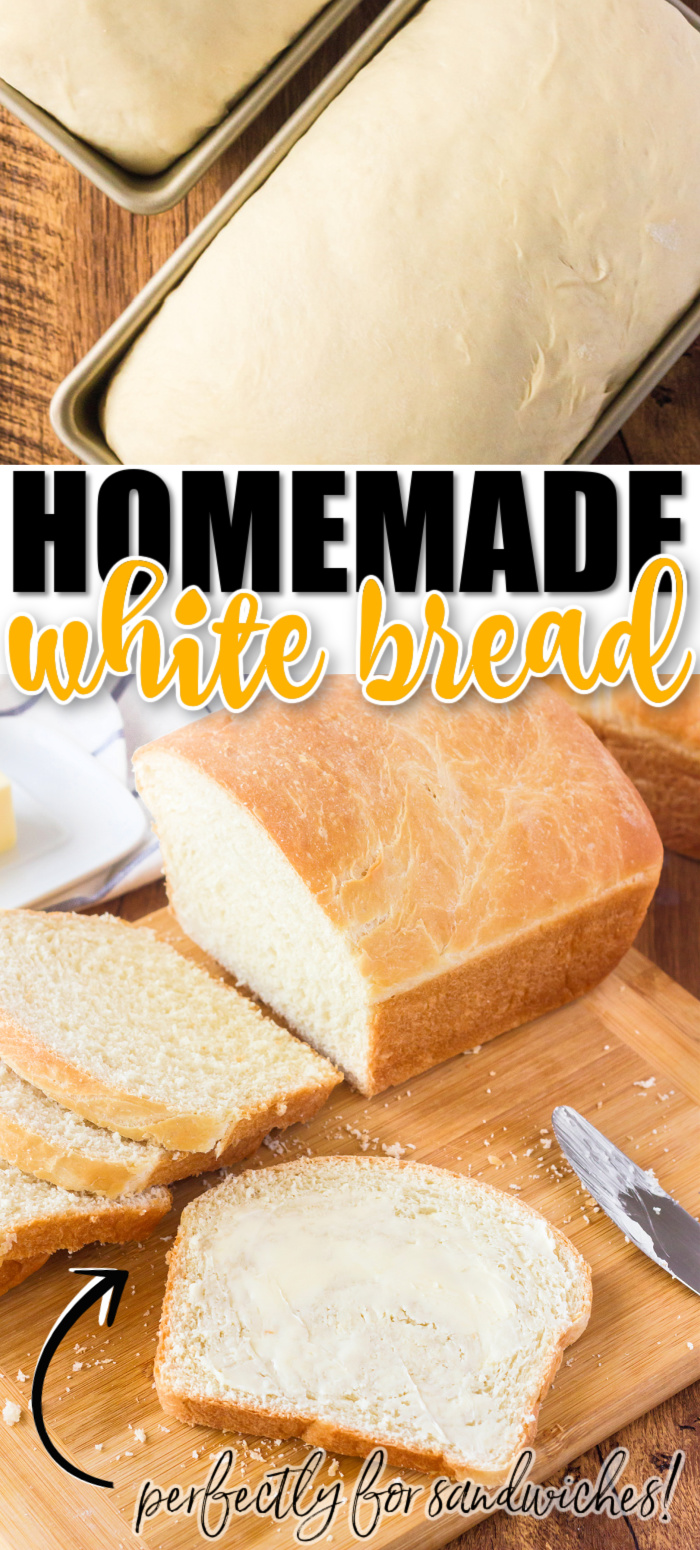 HOMEMADE WHITE BREAD RECIPE
