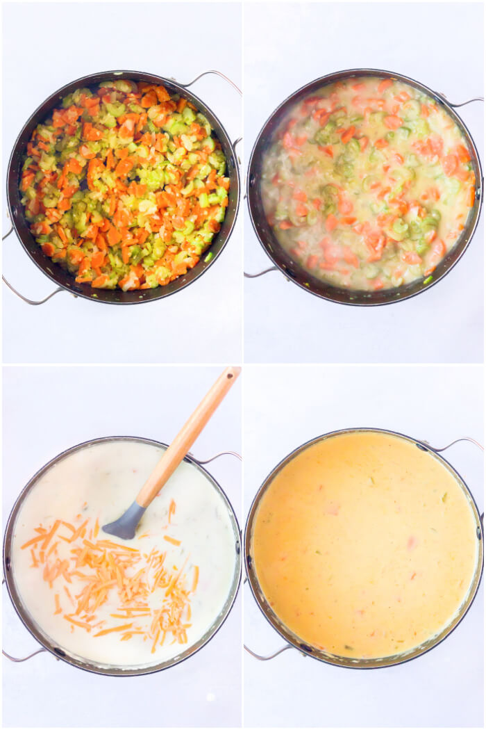 HOW TO MAKE BEER CHEESE SOUP