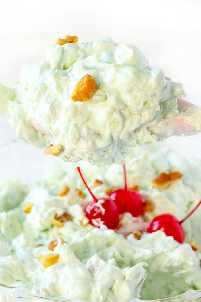 WATERGATE SALAD WITH PISTACHIO PUDDING