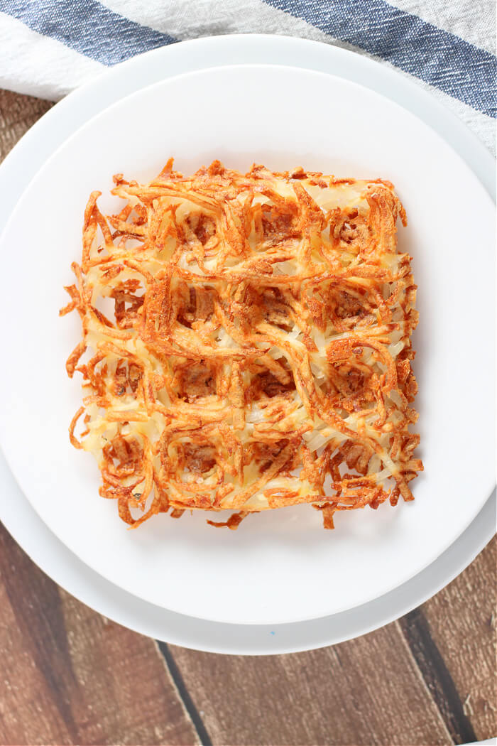 EASY HASH BROWN WAFFLES
