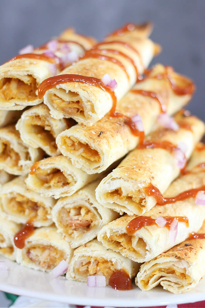 HOW TO MAKE BBQ CHICKEN TAQUITOS