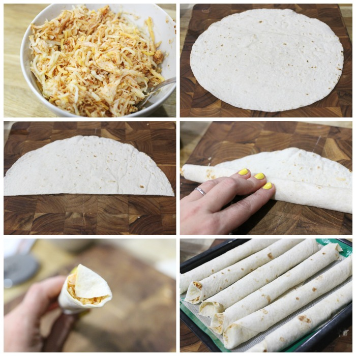 HOW TO MAKE EASY BBQ CHICKEN TAQUITOS