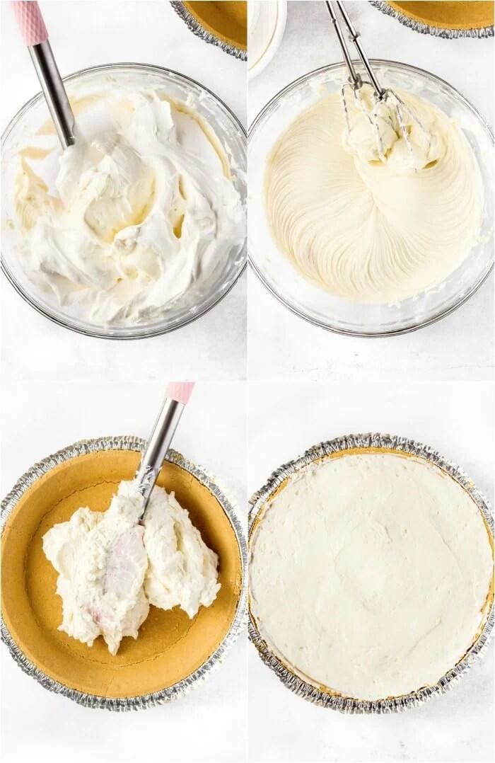 HOW TO MAKE NO BAKE BLUEBERRY CHEESECAKE