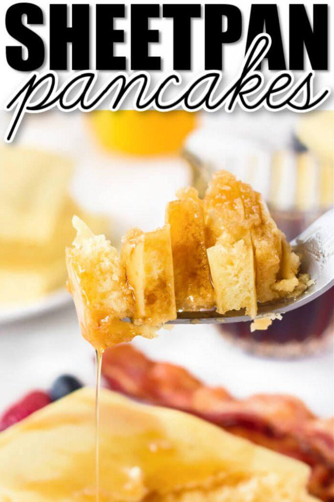 SHEET PAN PANCAKES RECIPE