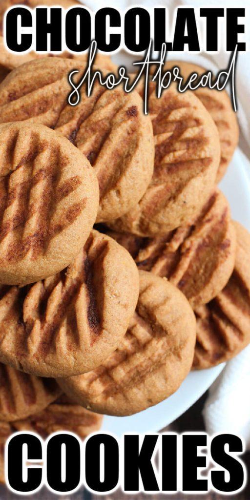 EASY CHOCOLATE SHORTBREAD COOKIE RECIPE