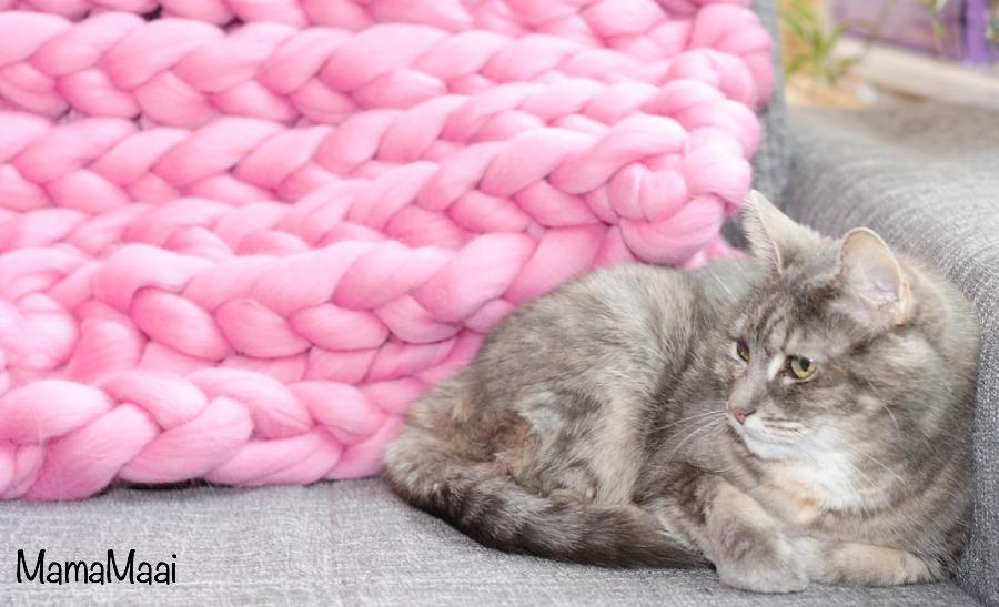 XXL deken breien  Mama Maai